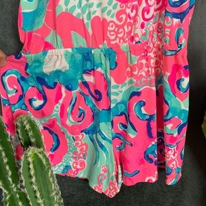 Lilly Pulitzer Pants - 🌵Lilly Pulitzer Klea Off The Shoulder Romper M